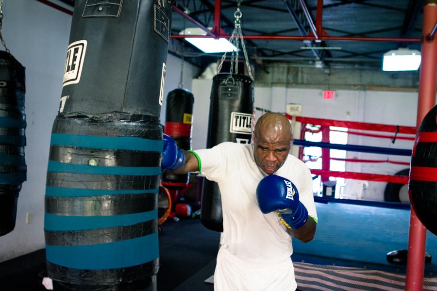 Glen Johnson Boxing